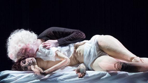 Foto der Inszenierung Chambre noir (Dunkelkammer)